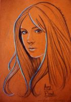 Amy Pond by FightingForNothing