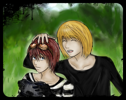 Matt and Mello by Szandy98