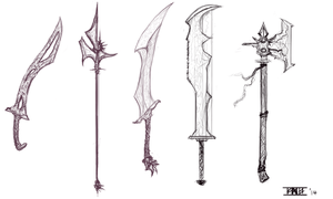 Sketchy Weapons by RavenousFire