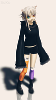 -MMD-updated o u o by ZiiiChan