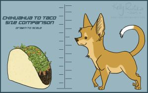 Chihuahua and taco by star-dog
