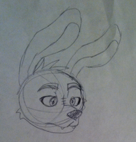 Old version Bonnie head by FoxyIsLoveFoxyIsLife