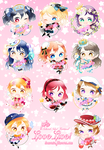 Lovelive Event Charms! by toumin