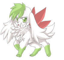 +Shaymin : Sky form+ by Sprinkling-stars