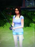 emily in sims 4 by Sylvia123wypich123