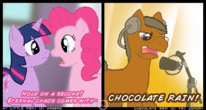 MLP: Chocolate Rain by Arbok-X
