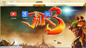 Jak 3 Chrome Theme [+.CRX Download] by Palladium-Phosphate