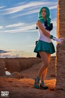 sailor neptune by SakuraFlamme