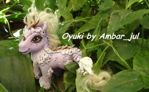 my little pony custom kirin Oyuki by AmbarJulieta