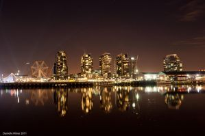 Dockland Reflections by DanielleMiner
