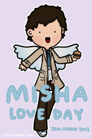 Misha Love Day! by LetsSaveTheUniverse