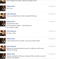 Thor and Loki FB convo 7 by JadenTheFangirl