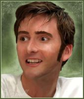 David Tennant Painting by Tauriosiris