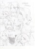 alot of eward elric :3 by nitrobandicoot