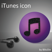 iTunes icon by BlitzDie