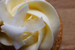 Pina Colada Cupcake by Cailleanne