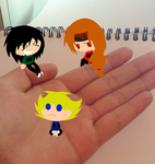 The RFBs are sitting on my hand by JLrrblover