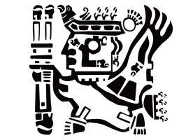 Inca Warrior _ filled by Boschdienst