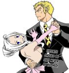 Mira and Laxus by pipomonkeys