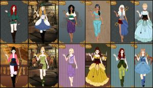 Steampunk disney by GreenEyedArt777