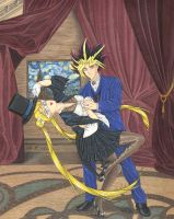 TD Serenity and Yami Yugi by Yamigirl21