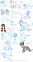 Huge sketch dump by KaiserTiger