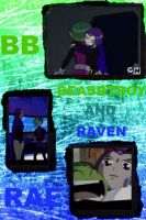 Beastboy and Raven Collage 3 by camacam11