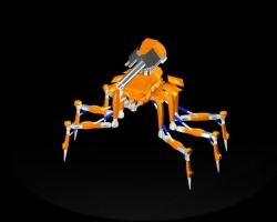 Spiderdroid 2.0 by Kratos-YMVS