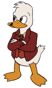 Marvel Revisited - Howard the Duck by Gaiash