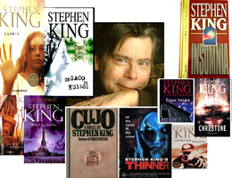 collage Stephen King by bloodserial