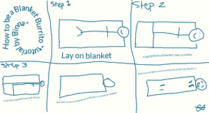 How to be a Blanket Burrito!!! by 99bink