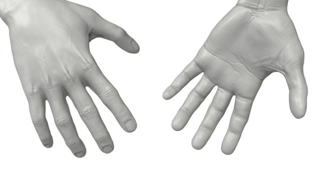 Male hands by MimiMiaART