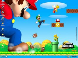 New Super Mario Bros. Windows Theme by N64chick