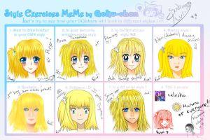 Style Exercices MeMe by Sakura-Ruri
