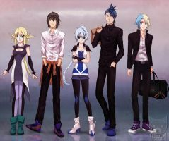 IMPACT CITY - guys and gals by Nekozumi