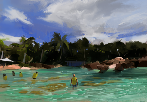 Virtual Plein Air 03 by ChocolateKnife