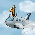 Why Giraffes cant be pilots by Digital-Quill-Studio