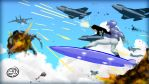 Dogfighting on a Hoverboard by TheRealAlpha2