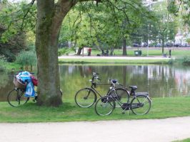 my bike - amsterdam by cassiwoo