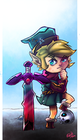 Link Scratch by AttackVII