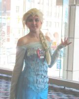 A Royal Visit from Queen Elsa by smithers456