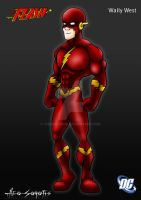 DCU - Flash - Wally West by TheoSar