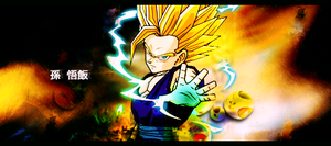 [Dragon Ball Z]Gohan signature by yoanribeiro