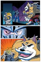 TMNT Animated #4 Page 9 by angieness