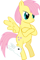 Fluttershy: 'So Assertive' by NightOfAccordionSax