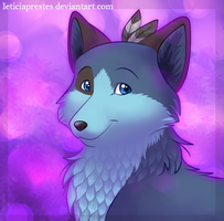 purple and silver by leticiaprestes