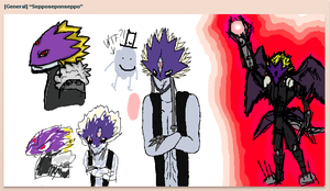 iScribble art with Hougen1Murre1 and Wolfox3 by Cenadramon