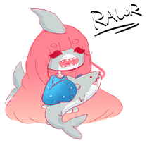 Rawr My Baby Shark by sugarmonster46
