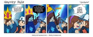 Gravity Falls: Artifacts by illeity