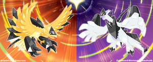 Necrozma Infection : Ho-oh and Lugia